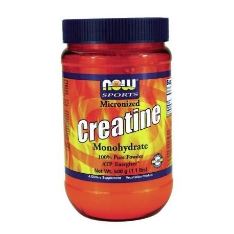 Creatine Powder NOW Alimentos 500 g Polvo