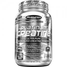 MuscleTech Platinum 100% de la creatina - 1500g sin sabor (monohidrato de creatina)