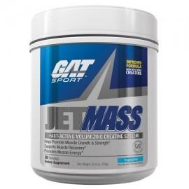 GAT muscular JetMASS de acción más rápida para dar volumen Sistema de creatina misa Jet tropical hielo 30 Porciones