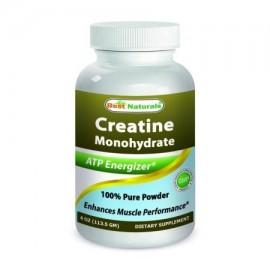 Best Naturals monohidrato de creatina 4 OZ polvo puro