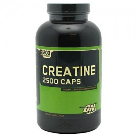 OPTIMUM NUTRITION creatina 2500 gorras 200 Cápsulas