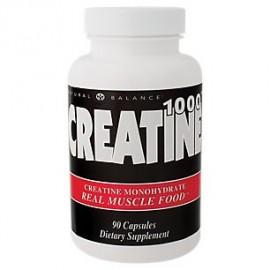 Natural Balance creatina 1000 cápsulas 1000 Mg 90 Count