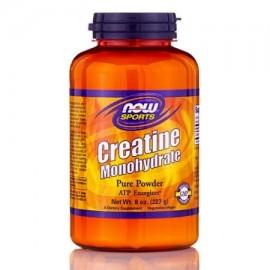 NOW Deportes - monohidrato de creatina en polvo - 8 oz (227 gramos) por NOW