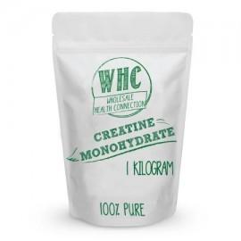 1 kg de monohidrato de creatina micronizado en polvo (333 personas) | Potenciador de entrenamiento | Construye músculo magro |