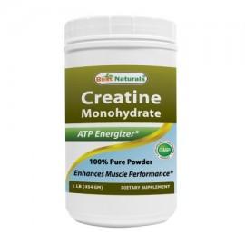 Best Naturals monohidrato de creatina 1 Lb polvo puro