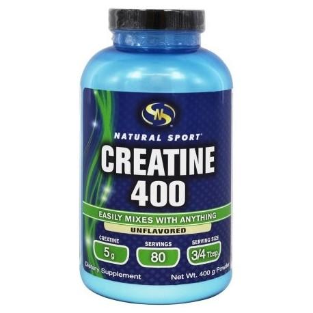 Natural Sport - La creatina sin sabor 400 - 400 gramos