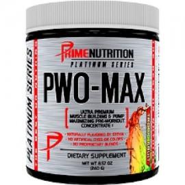 Prime Nutrition PWO-MAX - 30 Porciones Tropic Fruit (creatina libre Pre-entrenamientos)