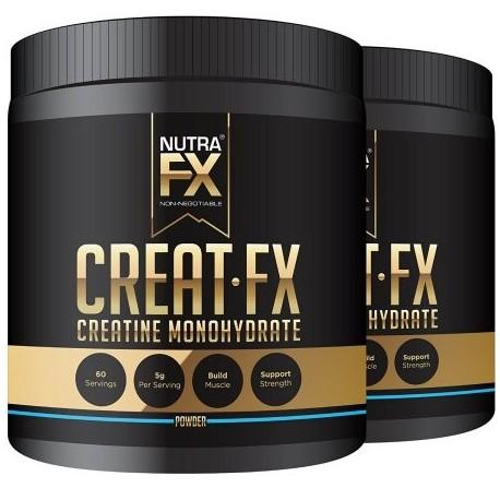 NUTRAFX micronizada monohidrato de creatina en polvo All Natural Boost Pre Entrenamiento muscular Energía y suplementos del edi