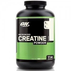 2pack - OPTIMUM NUTRITION creatina en polvo sin sabor 600g