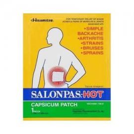 NUEVA SALONPAS caliente Capsicum Patch natural eficaz del dolor relief- 50 Conde