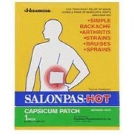 Salonpas Alivio del Dolor Parche - Hot 50 paquete de la caja de gran tamaño (512 x 709 in) Por HISAMITSU AMERICA INC