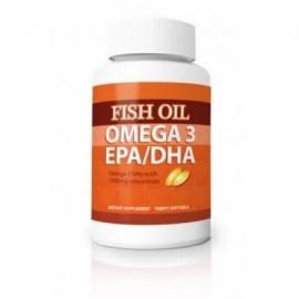 Las píldoras de aceite de pescado omega-3 EPA - DHA - Maximum Strength Omega-3 ácidos grasos 1.000 mg