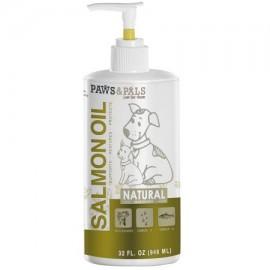 OxGord puro salvaje aceite de salmón de Alaska para perros mascotas Omega 3 Natural Dieta Suplemento