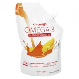 Coromega - Squeeze Omega-3 Mango - 16 oz.