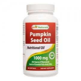 Best Naturals calabaza Aceite de Semilla de 1.000 mg 180 Ct
