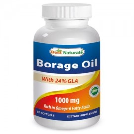 Best Naturals Aceite de borraja 1000 mg 90 Softgels