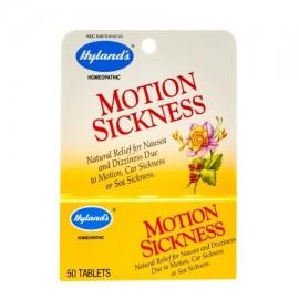 Hyland's Movimiento enfermedad Relief Tablets alivio natural de náuseas y mareos 50 Count