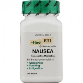 BHI Náuseas Tablets 100 Ct