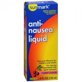 Náuseas Relief SunMark 21.5 Gram - 187 gramo - 187 Gram Strength Liquid 4 oz 1 '' conde ''