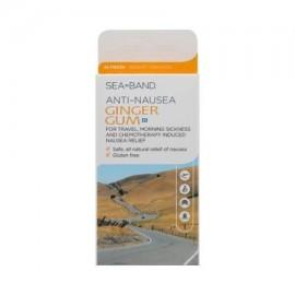 2 paquetes de chicle jengibre contra las náuseas - 24 piezas fabricado por .- Sea-Band Por Sea-Band