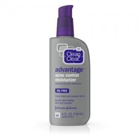 Clean - Clear Advantage control del acné facial hidratante 4 Fl. Onz.