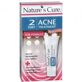 Nature's Cure Parte 2 para el tratamiento del acné Las hembras 1 Cada (paquete de 4)