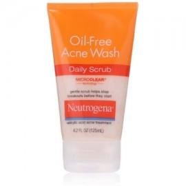 Neutrogena-Oil Free Acne Wash Daily Scrub 420 oz (Pack de 3)