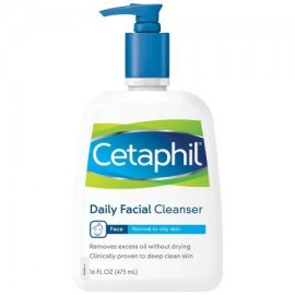 Cetaphil Piel Normal a Grasa Daily Facial Cleanser 160 onzas líquidas