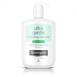 Neutrogena Ultra Suave Hidratante Limpiadora Piel Sensible 12 Fl. Onz.