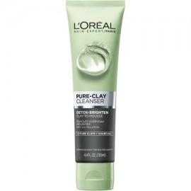 L'Oreal Paris piel expertos aclaran Detox-Pure-Clay Cleanser 4.4 oz fl