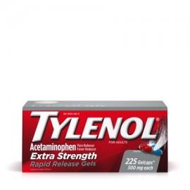TYLENOL ® cápsulas de liberación rápida fiebre reductor y Analgésico 500 mg 225 ct.