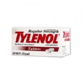TYLENOL Regular Strength analgésico y reductor de fiebre tabletas - 100 Ea