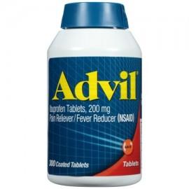 Advil analgésico - reductor de la fiebre Tableta recubierta 200 mg de ibuprofeno un alivio temporal del dolor (300 COUNT)