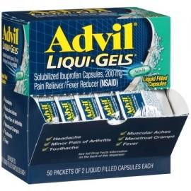 Advil Liqui-Gels analgésico - reductor de la fiebre Cápsula rellena de líquido Refill 200 mg de ibuprofeno un alivio temporal
