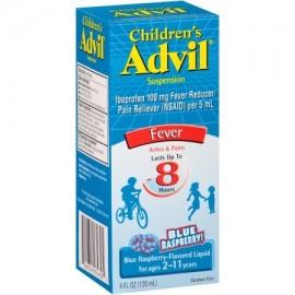 Advil Fiebre de frambuesa azul Niños suspensión líquida 4 oz fl