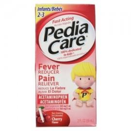 PediaCare reductor de la fiebre Analgésico acetaminofeno bebés Cherry 2.0 FL OZ