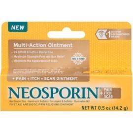 Neosporin - Dolor picor Scar ungüento antibiótico 0.5 Oz