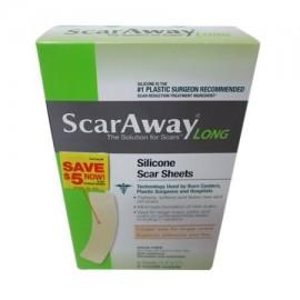 ScarAway largo de silicona hojas de cicatriz 15 Inc x 7 Inc 6 Ea