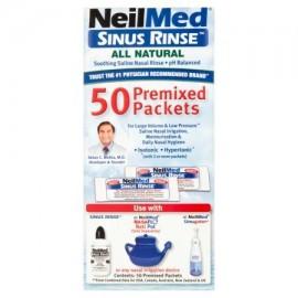 Neil Med Sinus Rinse premezcladas paquetes 50 ct