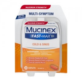 Mucinex Fast Max Maximum Strength Cold -amp- Sinus 200 CT