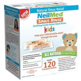 Neilmed Sinus Rinse pediátricos Refill paquetes 120 Ct