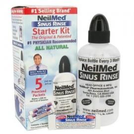 Enjuague sinusal Starter Kit (5 paquetes) buque de EE.UU. marca Neilmed