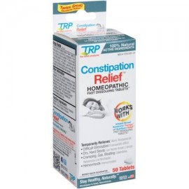 The Relief Products estreñimiento Relief homeopática Fast comprimidos de disolución 50 ea (Pack de 2)