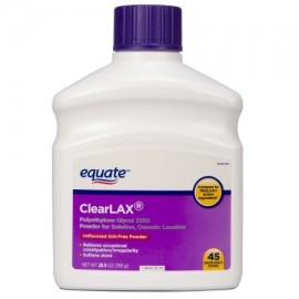 equate ClearLAX Laxante en polvo 269 oz