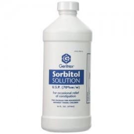 Geritrex Sorbitol 70% de alivio del estreñimiento Solución 16 OZ