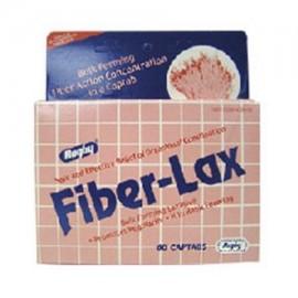 Fiber-Lax 500 Mg (Fibercon Generic) Tabletas para aliviar el estreñimiento - 60 Ea