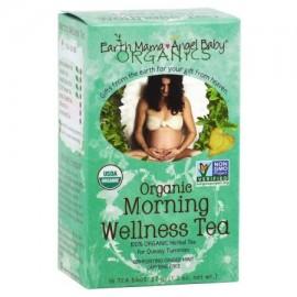 La mañana de té orgánico de bienestar para el ocasional enfermedad de la mañana 16 bolsitas de té - Caja de