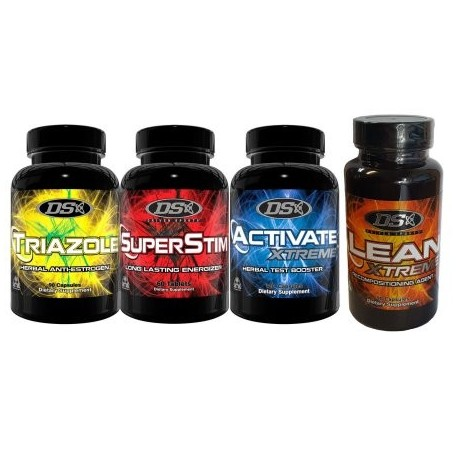 DRIVEN SPORTS Activar triazol de Lean Xtreme Suplemento Superstim Combo Pila
