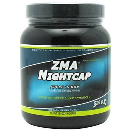 SNAC System Night Cap ZMA de Apple Berry 30 CT