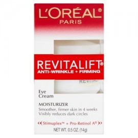 L'Oréal Paris Revitalift Antiarrugas - Reafirmante Ojos de la crema hidratante 05 oz